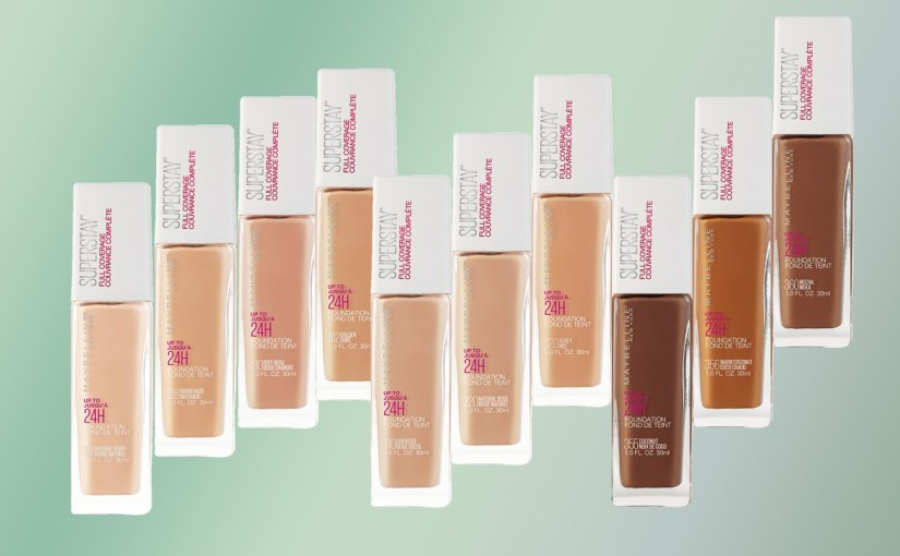 Review & swatches | Maybelline Superstay 24H full coveragefoundation